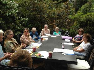 Meeting at Lakewold Garden